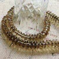 Min Order 10 1Strand Pack 6 3mm Natural Smoky Quartz Crystal Bead Strands Semi Precious