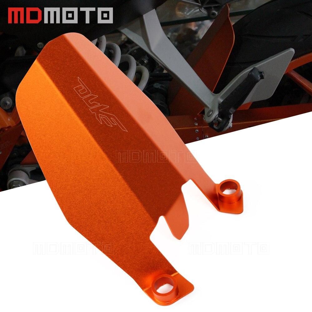 Motorcycle Aluminum rear Wheel Cover fender extension Extender For KTM DUKE 390 2013 2018 DUKE 250