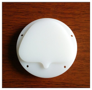 White 89x71x18mm Amann Girrbach Dental CAD CAM Milling Wax White Color,dental lab material