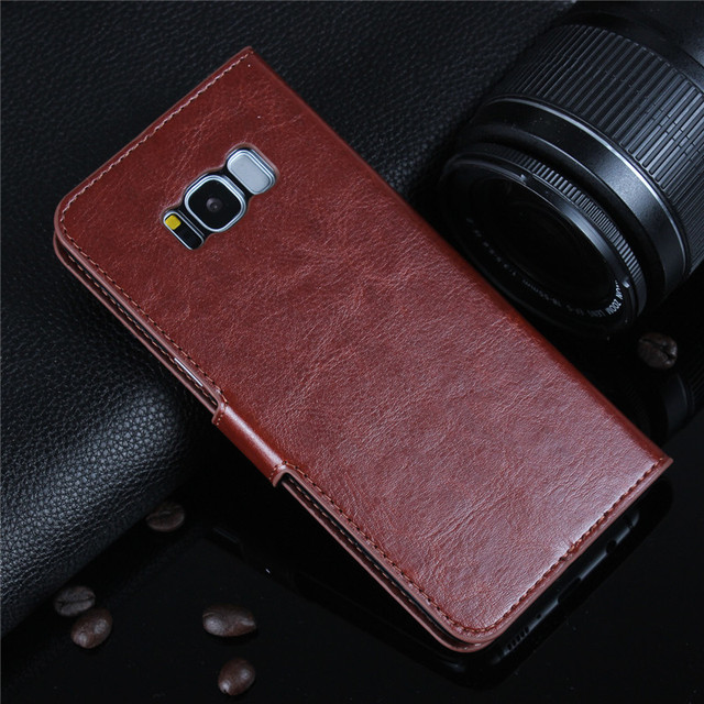 For A3 A5 A7 J3 J5 J7 2016 2017 Case Leather Flip Wallet Cover for Samsung Galaxy S8 Plus S6 S7 Edge S5 S4 S3 Grand Prime Coque 3