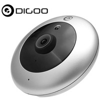 Digoo DG-UFC H.265 Strengthen Lens 1080P FHD 2.8mm 180 Degree Wireless Night Vision Smart Home WIFI IP Camera Security Monitor(China)