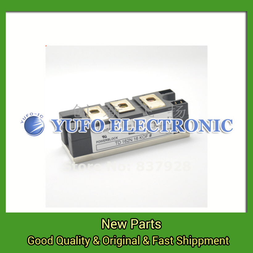 Free Shipping 1PCS TD162N16KOF Power Modules original new Special supply Welcome to order YF0617 relay free shipping 1pcs bym300b170dn2 power module the original new offers welcome to order yf0617 relay