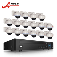 ANRAN 16CH NVR Kit Security CCTV System 6TB HDD Onvif 1080P 2MP HD Outdoor Vandal-proof IP Network POE Camera System