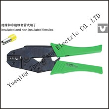 цена на tool HS-04WF  A.W.G.17-7 ratchet crimping plier european style insulated and non-insulated ferrules length 230mm hand tool