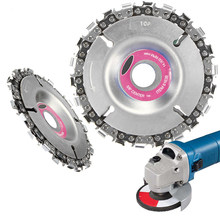 4 Inch 22Tooth Grinder Disc Fine Chain Saw 4 Inch Angle Carving Culpting Wood Plastics For 100/115 Angle Grinder(China)