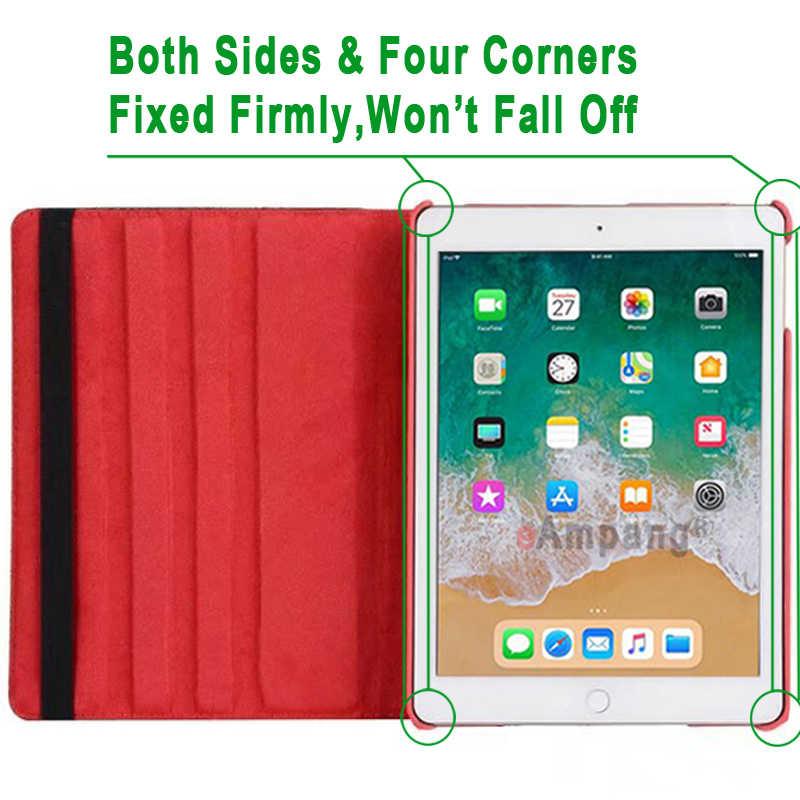 360 Вращающийся Кожаный умный чехол с флагом США, Великобритании, Канады для Apple iPad 9,7, 2017, 2018, Air 1, 2, 5, 6, 5-го, 6-го поколения, чехол