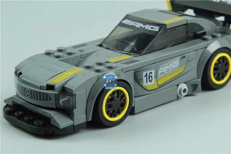 DIY Super Racer Series The AMG GT3 Racing Car Set Children Educational Building Blocks Bricks Lepins FUNNY Figures Toys Gifts hot sale 1000g dynamic amazing diy educational toys no mess indoor magic play sand children toys mars space sand