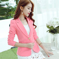 Blazer Feminino Spring Jacket Casual Suit Women Blazers And Jackets Slim Long Sleeve Blue Suit Jacket Ladies Blazers Tops C2341