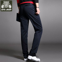 AFS JEEP Brand Pants Men Army Military Trousers Cotton Pants For Men Pantalon Homme Straight Full