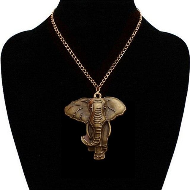 Vintage gold elephant pendant necklace men retro animal pendants vintage gold elephant pendant necklace men retro animal pendants necklaces women jewelry gift fashion colares femininos aloadofball Choice Image