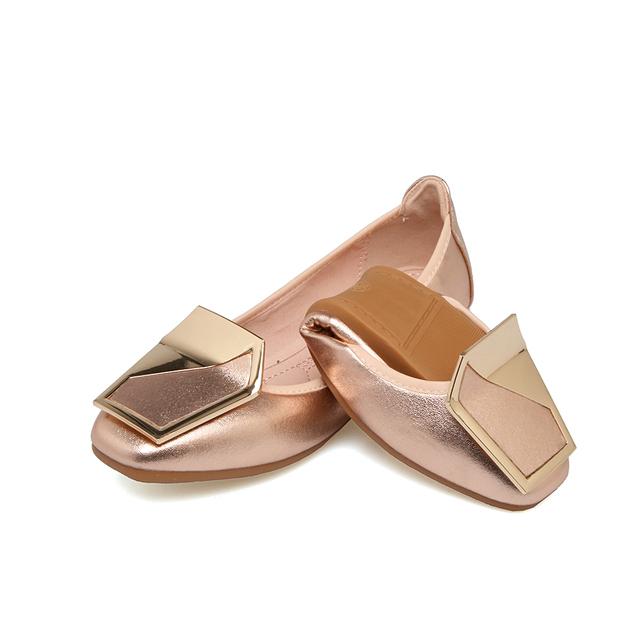 Luxury Brand Spring 2018 Fashion Women Square Toe Blue Ballerina Flats Designer Glitter Plus Size Red Boat Shoes Mocasines Mujer