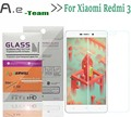 Aierwill Tempered Glass 9H+2.5D Film For Xiaomi Redmi 3 Screen Protector HD Toughened Protective Film for Xiaomi Redmi3 Phone