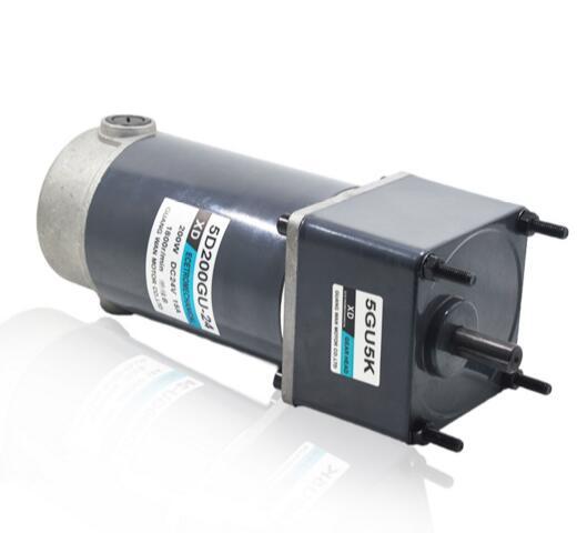 200 W DC vitesse moteur réducteur 12V24V 30RPM 40nm engrenage moteur à basse vitesse micro de régulation de vitesse bidirectionnelle petit moteur