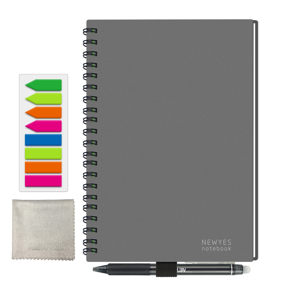 NEWYES <font><b>A5</b></font> Smart Reusable Erasable Leather <font><b>Notebook</b></font> Paper Notepad Diary Journal Office School <font><b>Travelers</b></font> Drawing Gift 2019 image
