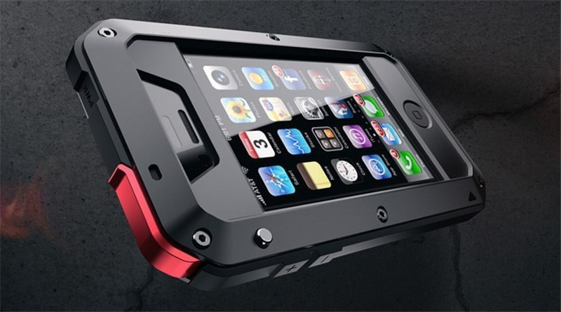 brand new 4cc6f cedf5 US $18.64 |Free Shipping 1:1 Doom armor Dirt strong Waterproof Shockproof  Metal Aluminum phone case For iphone 4 4s 5 5s 5c 6 4.7'' 6 Plus on ...