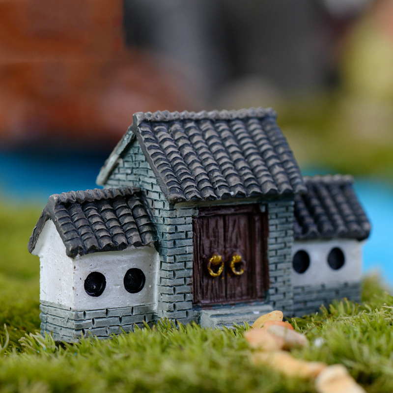 1PCS Beautiful Mini dollhouse ,DIY 3D Miniatures Wooden Doll House Room,Funny Ancient tradition DIY Assembling Toys Girl Gifts