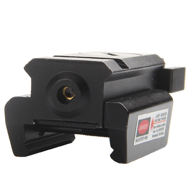 Red Dot Tactical Laser Sight Low Profile 532nm Scope Fit 20mm Weaver Rail Mount for Pistol Rifle Gun RL3-0005-04