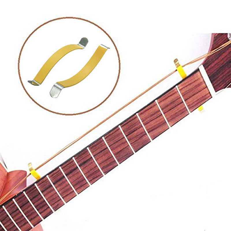 1 pair Guitar Bass String Spreader For Polish Cleaning Fretboard Fret Care Luthier Tool r169 free shipping blower new design funny inflatable arch inflatable entrance archway newest funny style of inflatable archway