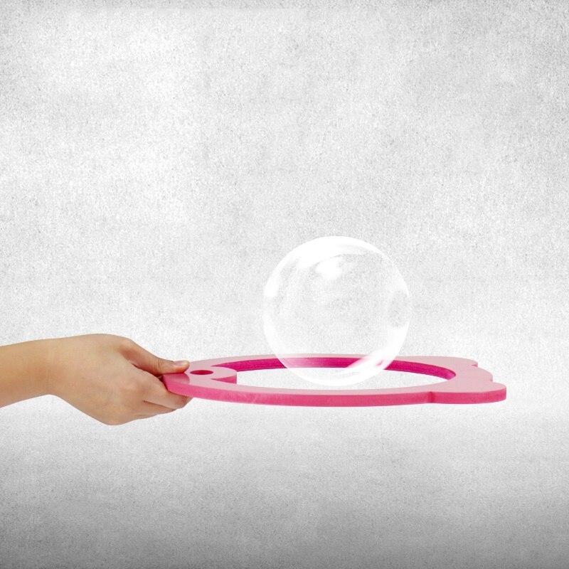 Bulle spectacle raquette invisible rose ou bleu tours de magie accessoires de magie