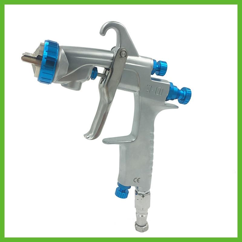 цена на W101 Automotive Spray Gun Airbrush Gun Car Painting Gun Air Tool Stainless Nozzle Sprayer High corrosion resistance