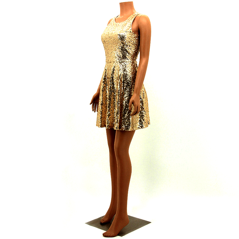 summer 2017 sexy party gold sequin dress vestidos woman glitter dress sequin dress backless dress jurken short womens clothing 6