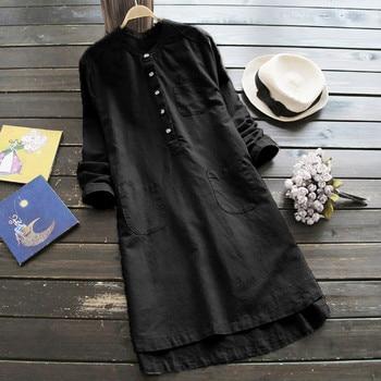 Plus Size Summer Women Midi Dress 2018 Elegant Print Sleeve Casual Ladies Shirt Dresses Gothic Korean Dress Women Clothes