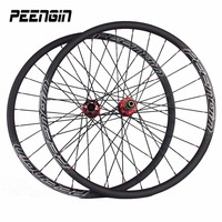 Carbon Mountain Wheelset 29er Xc Novatec MTB Lightest Hookless Carbon Rim Cycling DISC Brake Wheels Bike