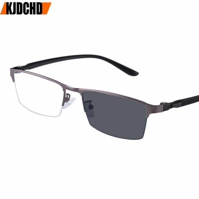 31cb579e0 KJDCHD Novo óculos de Sol De Transição Photochromic Óculos de Leitura  Presbiopia Eyewear com dioptrias óculos