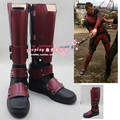 Deadpool Wade Wilson dead pool botas sapatos cosplay