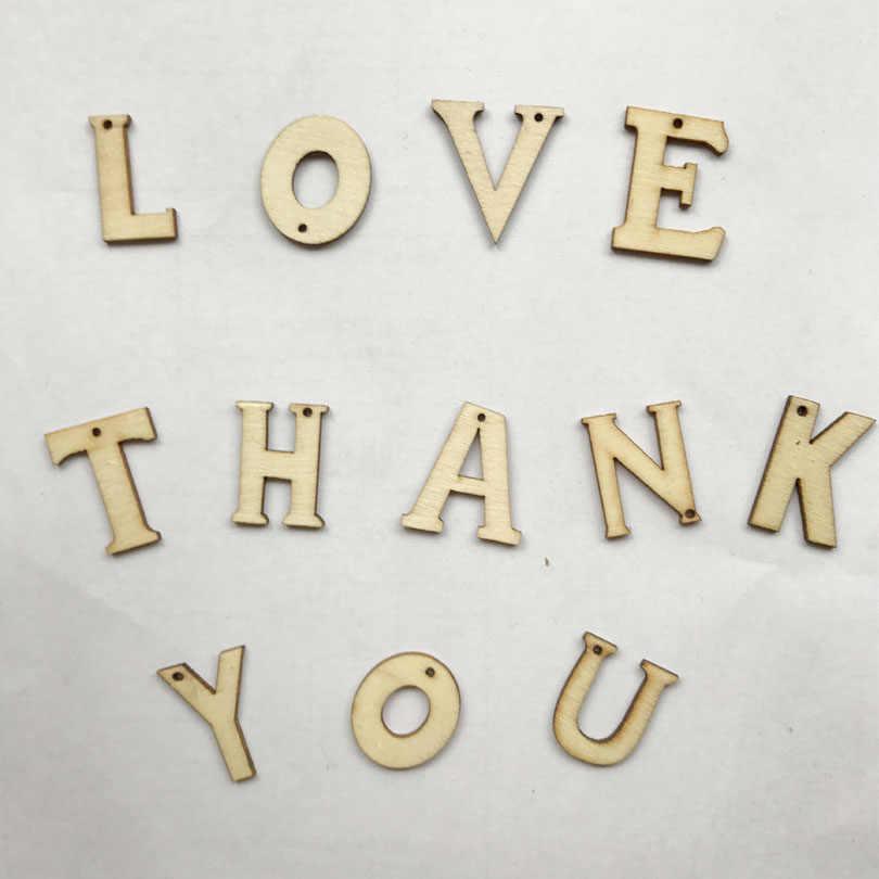 ファッションビッグ英国手紙ビーズ木材工芸木製クリップ文字マーキングフレーム壁の装飾家の装飾の結婚式写真の小道具