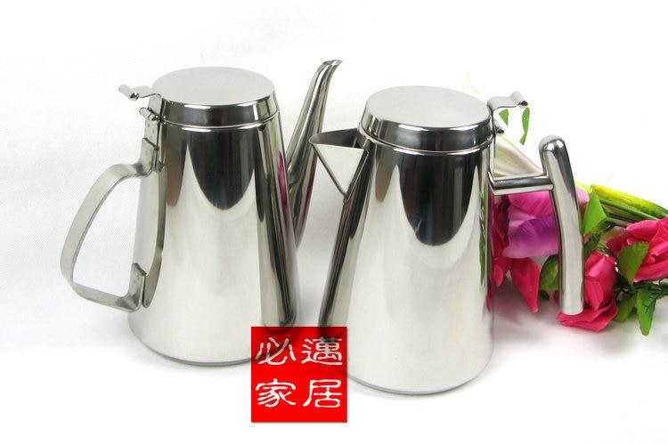 고품질의 스테인레스 스틸 냉수 주전자 차가운 시원한 컵 커피 포트 차 냄비