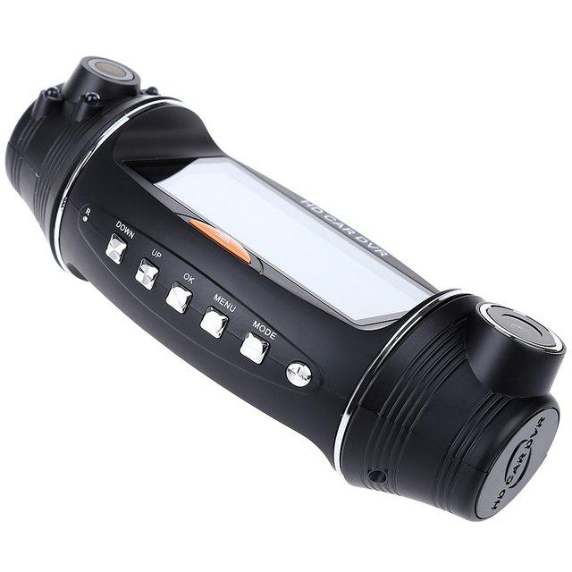 USB 2.0 Interface Type Night vision 2.7 inch R310 HD 1080P Dual Lens Car DVR IR Night Vision Rear View Camera Recorder hot sale