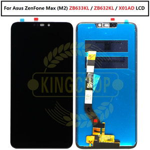 Image 3 - Pantalla LCD de 6,26 pulgadas para Asus Zenfone Max M2 ZB633KL/ZB632KL X01AD, Digitalizador de Panel táctil con marco