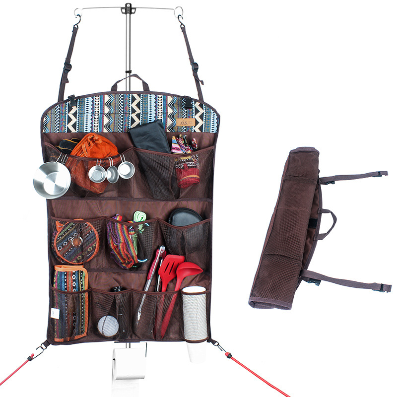 Foldable Pocket Outdoor Multi function Storage Bag Portable Tent Home Wall Storage Pocket