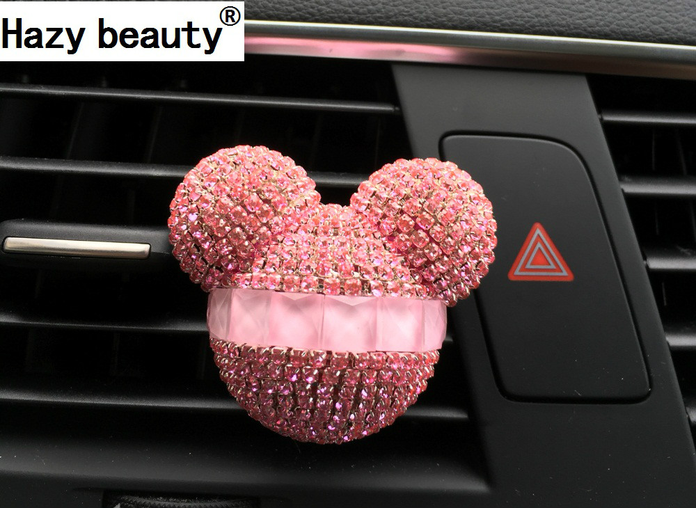 Hazy beauty car styling crystal car perfume car air freshener 100 original  perfume air conditioning vent flavouring in the car