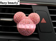 Hazy beauty car styling crystal car perfume car air freshener 100 original perfume air conditioning vent