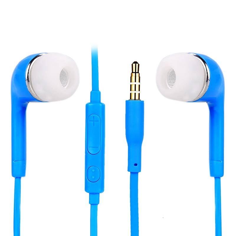 Uus värviline 3,5 mm stereo kõrvaklappide peakomplekt Earbud - Kaasaskantav audio ja video - Foto 4