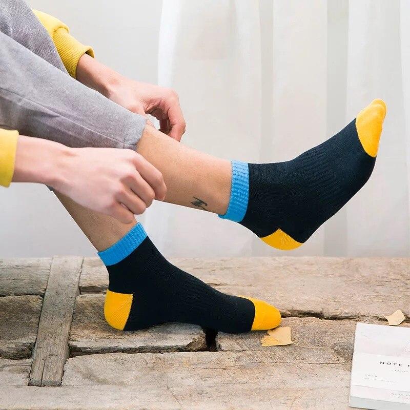 Socks men A97 spring autumn winter pure cotton socks four seasons
