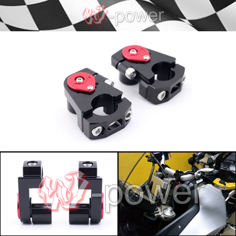 NEW Universal Motorcycle Adjustable Handlebar Riser Bar Clamp Extend Adapter fite For 1 / 28mm Handlebar new universal motorcycle adjustable handlebar riser bar clamp extend adapter for 1 28mm handlebar