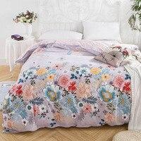 decorUhome 100% Cotton Duvet Cover With Zipper Full Queen King Size Duvet Cover quilts comforter case 1pc Vintage Blend Duvet