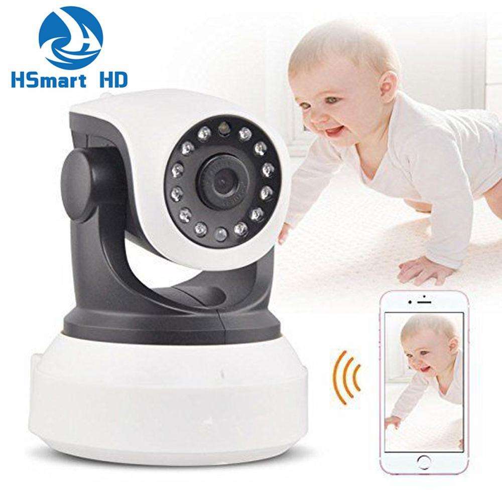 ФОТО Wireless Pan Tilt 720P Security Network P2P CCTV IP Camera ONVIF NVR Night Vision WIFI Webcam 1.3MP 960P HD Camera