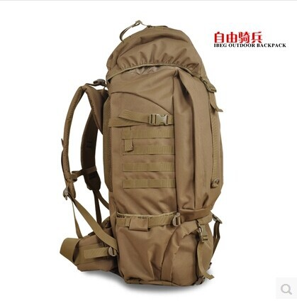 fc2910ec655b HIgh Quality Huge Capacity Women Men Unisex Outdoor Backpack Military  Tactical Backpack Hiking Bag Laptop Backpack Travel Bag-in Backpacks from  Luggage ...