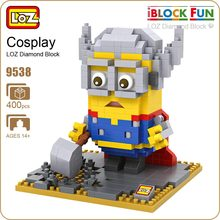 LOZ Diamond Blocks Building Sets For Adults Thor Action Figure font b Toys b font For