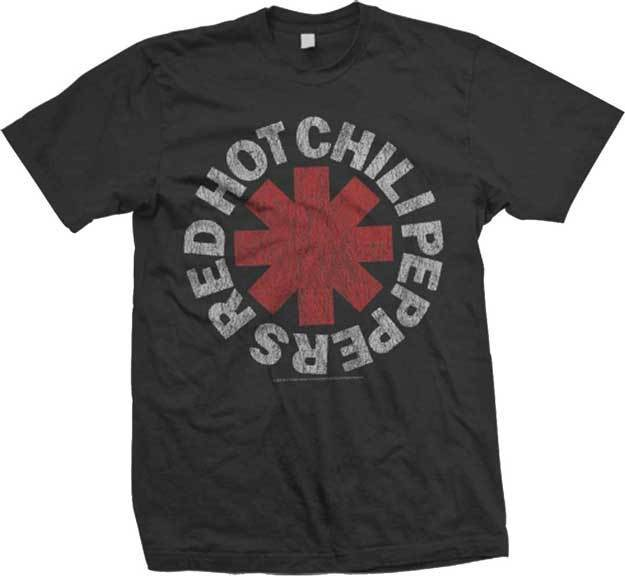 RED HOT CHILI PEPPERS - Vintage Logo -   T     SHIRT   S-M-L-XL-2XL Brand New Official tshirt hot fashion top free shipping 2018   shirts