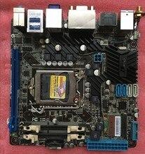 Для asus p8h67-i deluxe оригинальный используется для рабочего материнская плата для intel h67 Socket LGA 1155 Для i3 i5 i7 DDR3 16 Г Mini-ITX На продажа