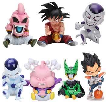 11 cm anime Dragon Ball Fighter Z Majin Buu komórkowy pcv figurka zabawki Model Kid Buu Freeza frieza Fina Z