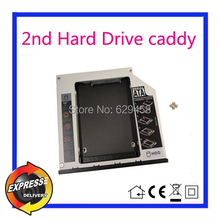 2nd SATA HDD Hard Disk Drive caddy Adapter for Dell Latitude E5430 E5510 E5530 Free Shipping