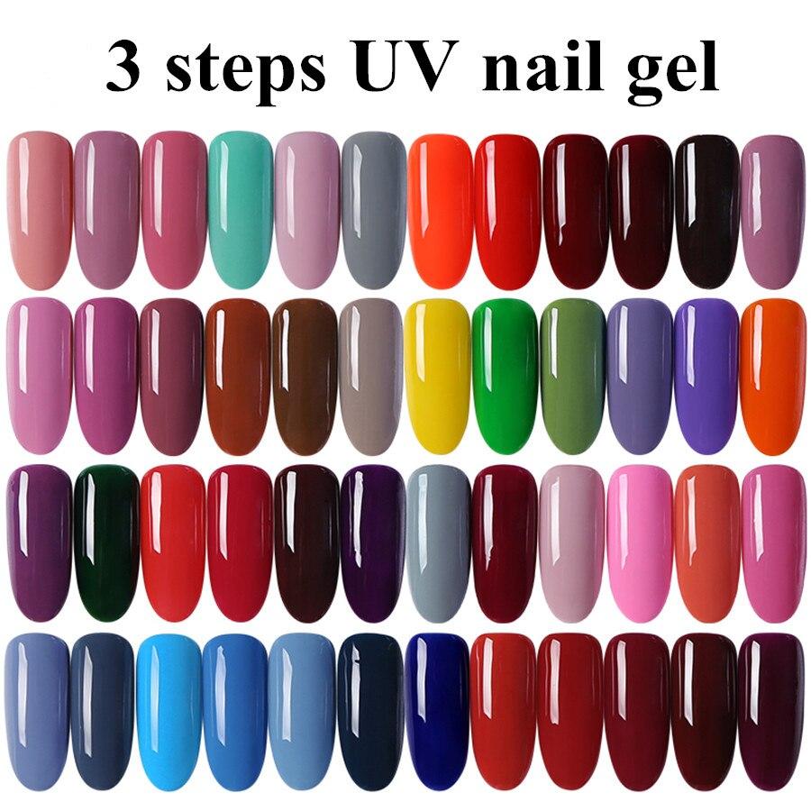 MONASI Free SHipping Bright Red UV Gel Nail Polish For Women Art ...