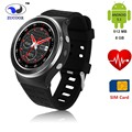 Горячая S99 Smart Watch GSM 3 Г Четырехъядерный процессор Android 5.1 SmartWatch 5.0 МП Камера GPS WiFi Bluetooth V4.0 Шагомер Монитор Сердечного ритма