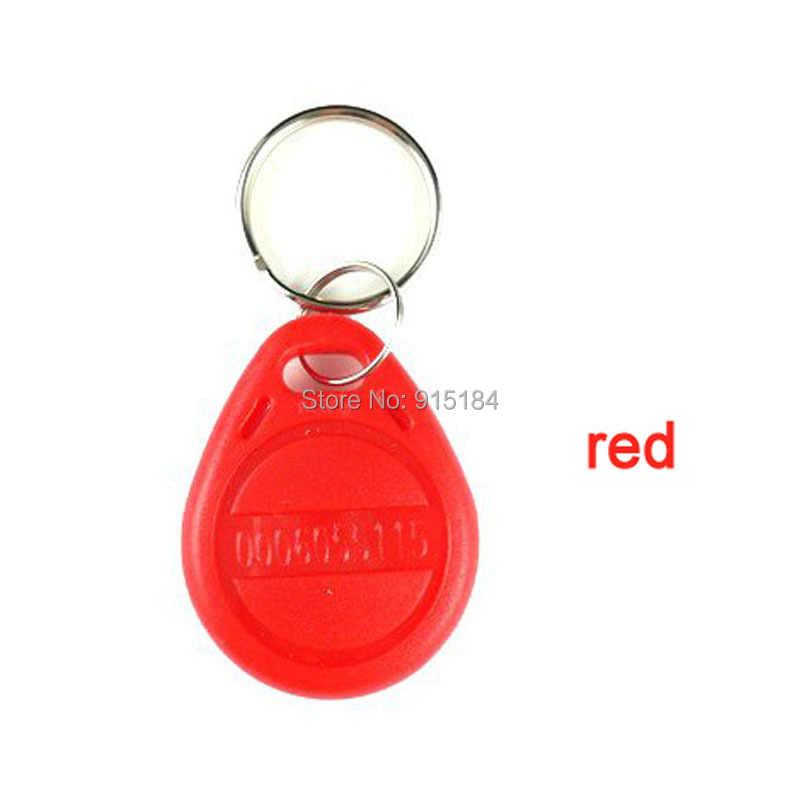 1PCS RFID 125KHz em4305 t5577 tag Rewritable Programmable  Keychain Keyfobs Key Finder For Copy EM4100 Cards